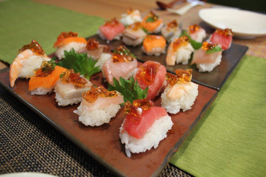 ポン酢ジュレ寿司