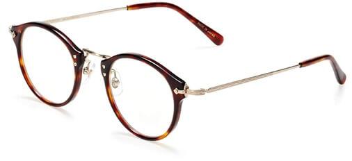 BEAUTY&YOUTH×kaneko optical」ボストン型フレーム
