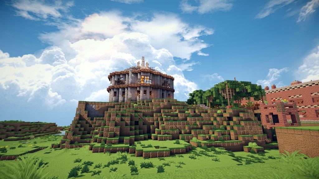 丘の上の家1