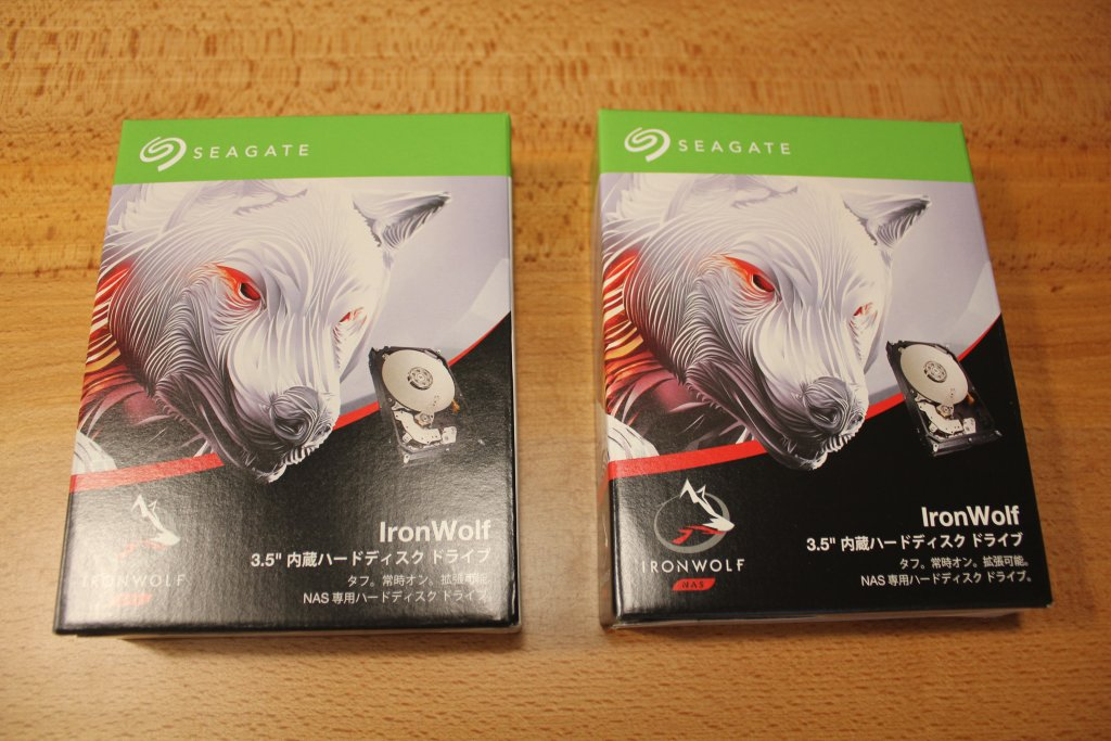 Seagate HDD IronWolf「ST2000VN004」