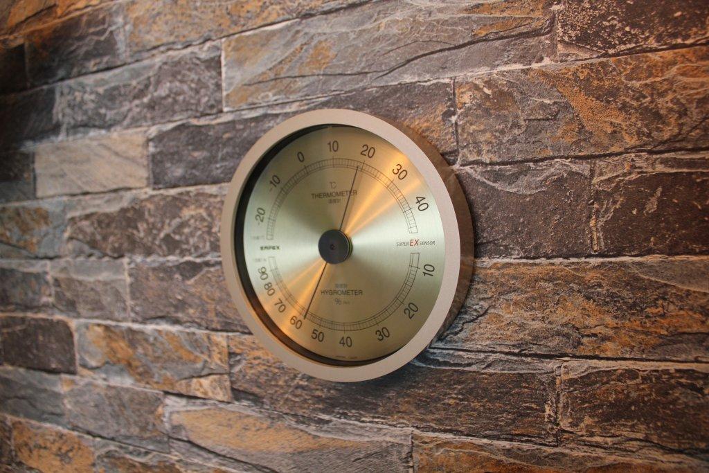 エンペックス気象計 温度湿度計 スーパーEX EX-2728