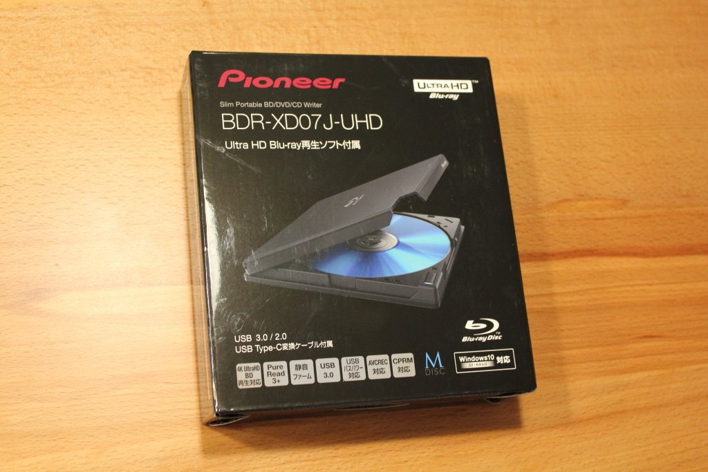 Pioneer BDR-XD07J-UHD