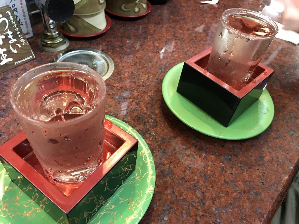 昼から日本酒