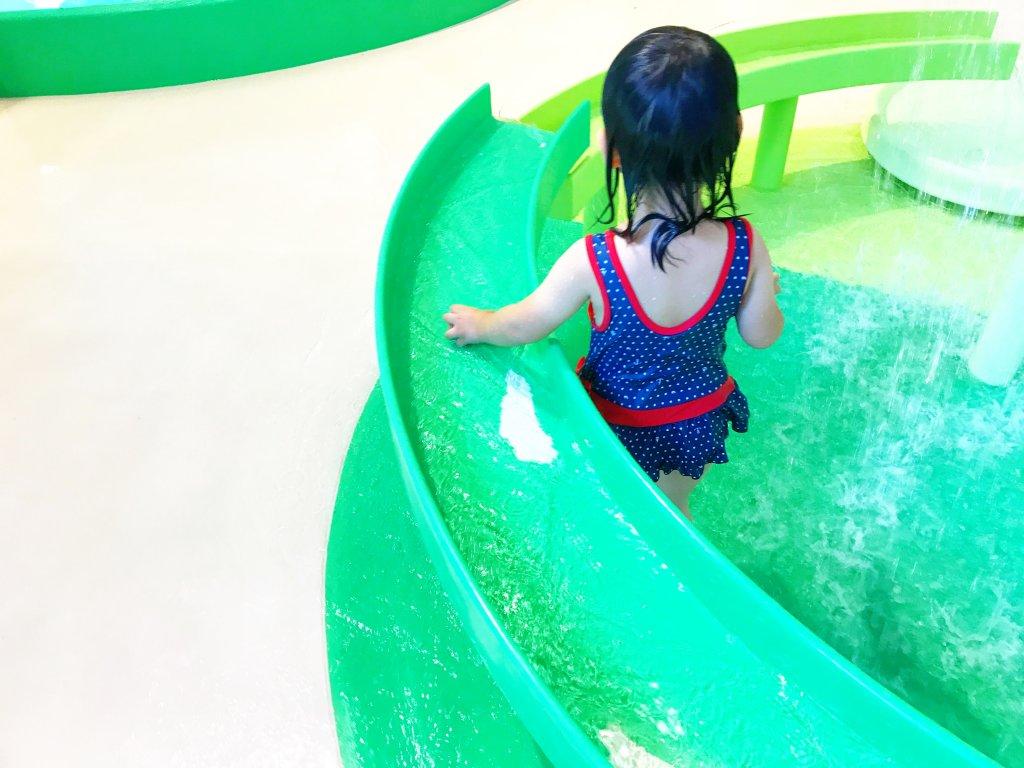 水遊びエリア遊具2