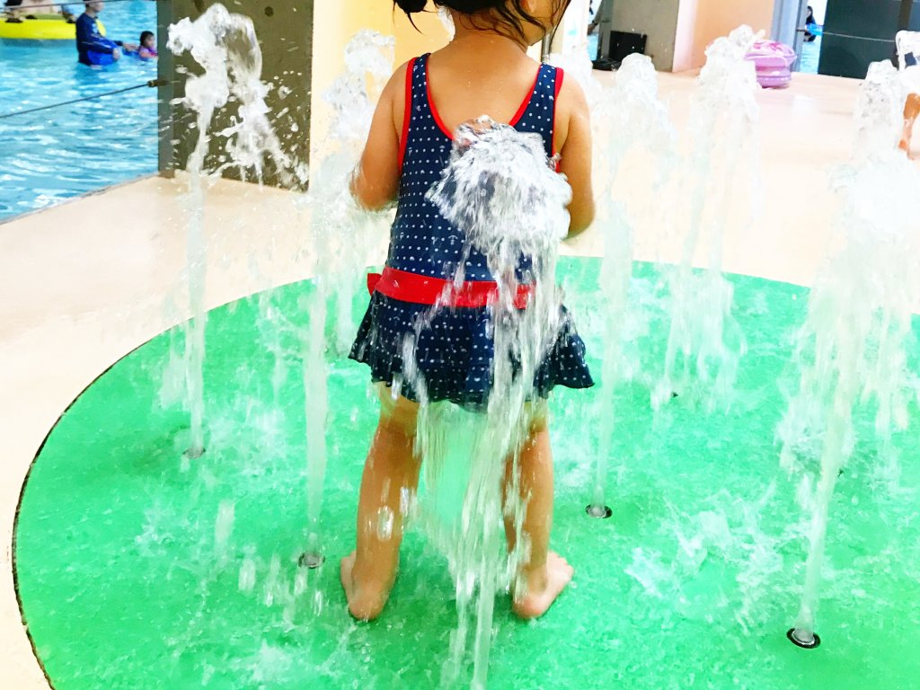 水遊びエリア遊具3