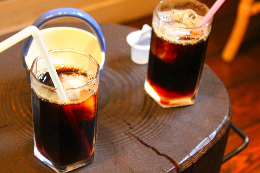 アイスコーヒー2つ