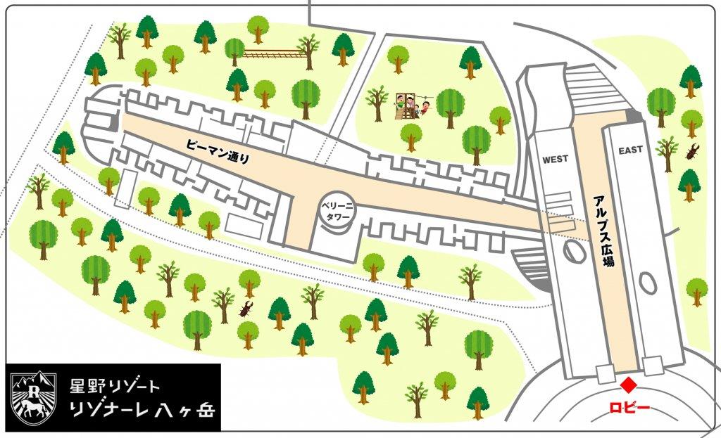 ロビー 地図
