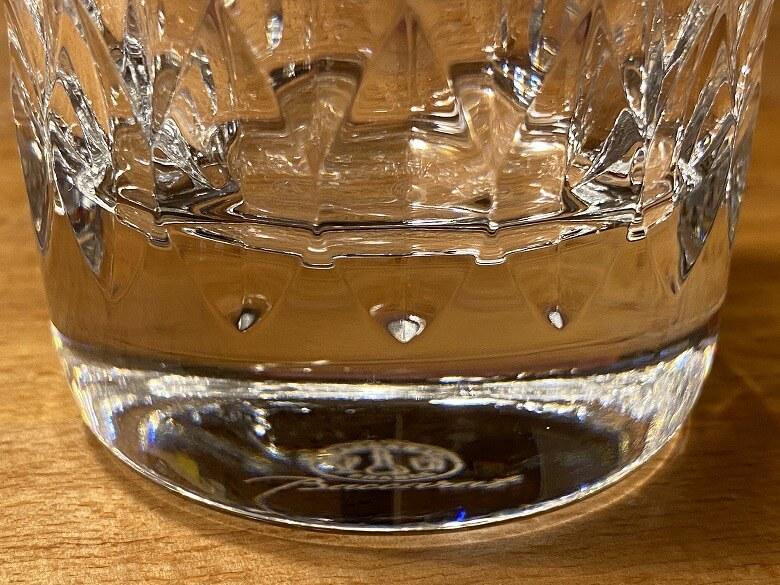 バカラ アルマニャック タンブラー 底のガラス